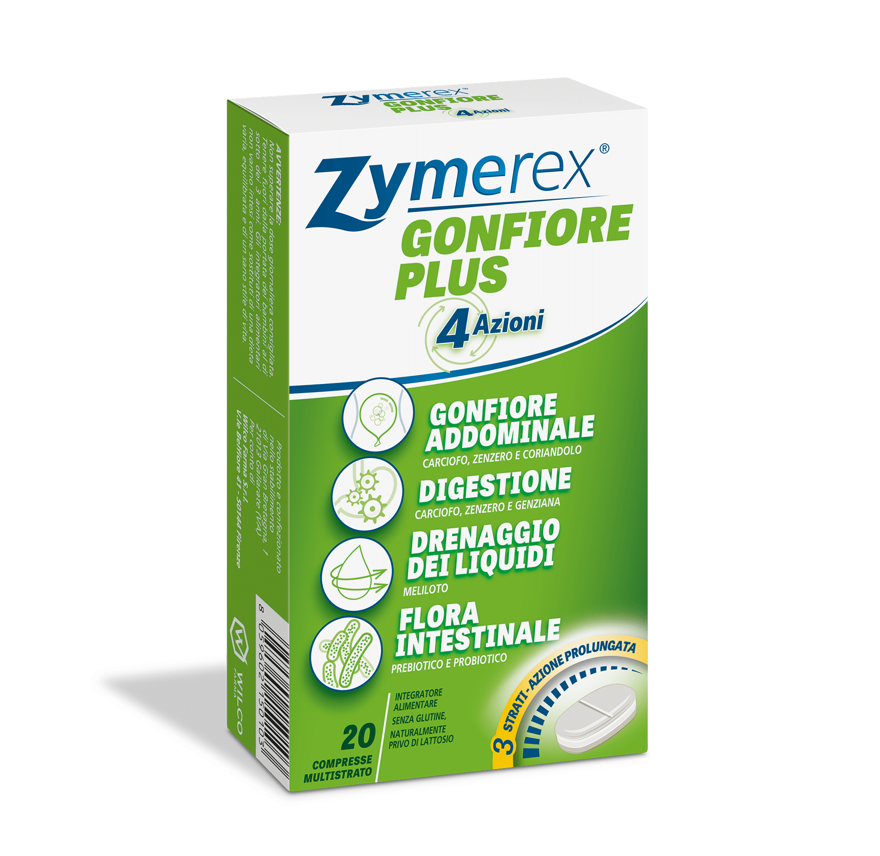 Zymerex® Gonfiore Plus 4 Azioni